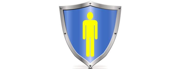 "the human ""shield"""