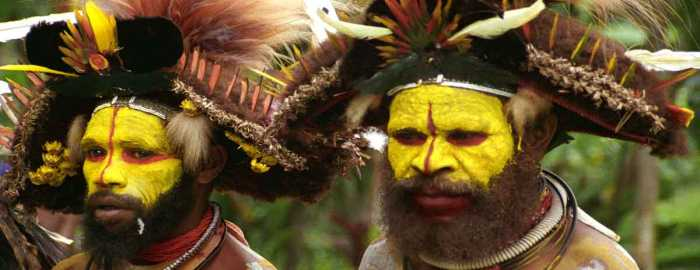 Lost Tribe in New Guinea?