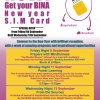NOW!  Get your BINA New year S.I.M Card