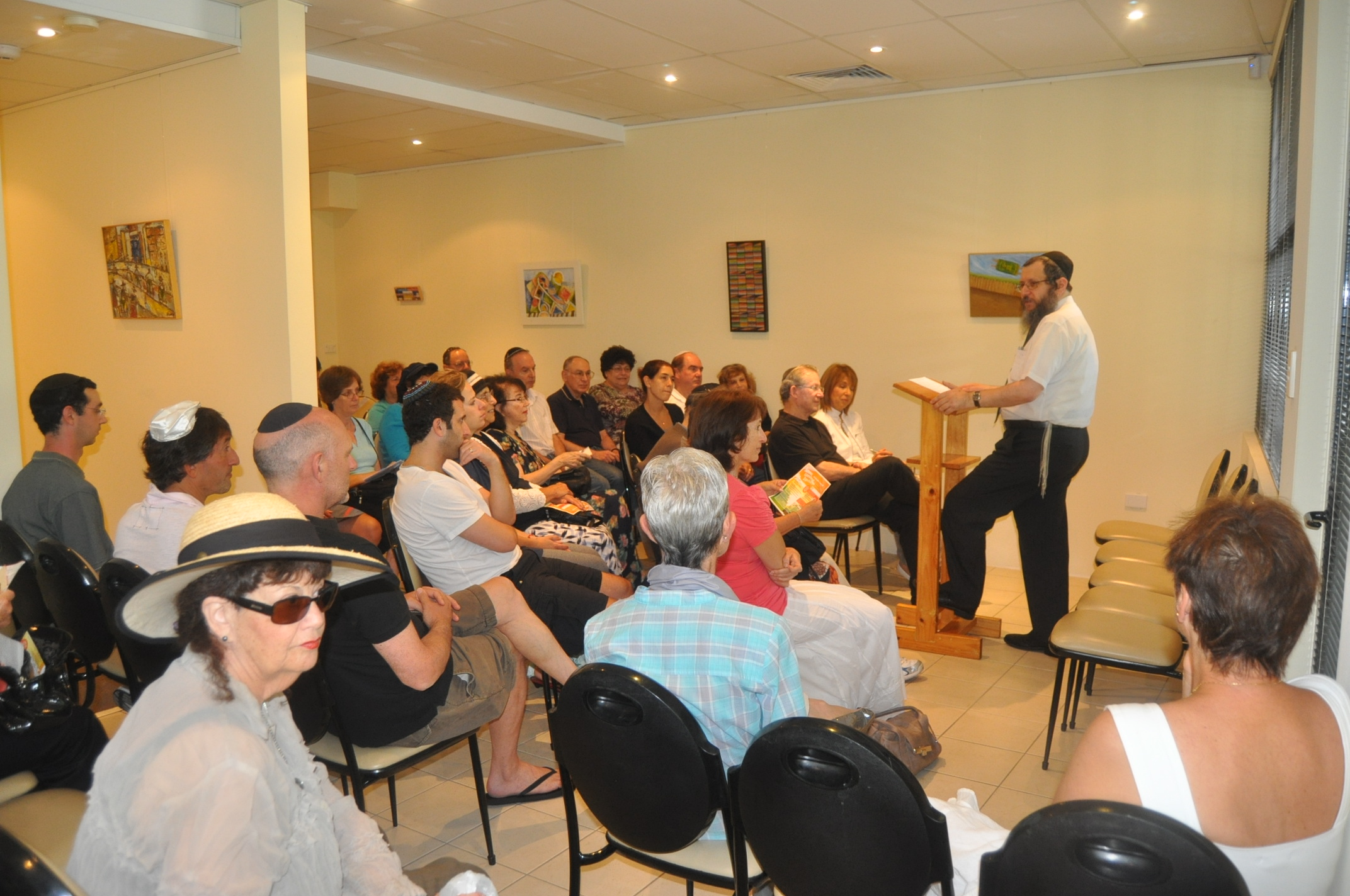SLE 2011 Lecture with Rabbi Gourarie